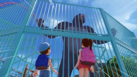迷你特工队之超级恐龙力量第2季:大猩猩为何会生气?