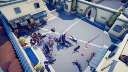 全面战争模拟器:敌人有弩炮,射中会被秒杀
