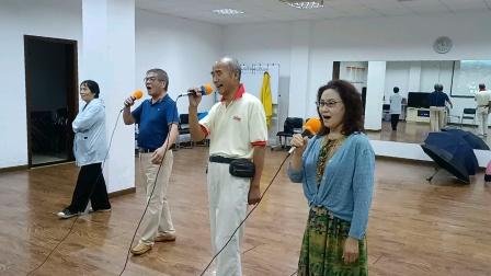 老有所乐《牡丹之歌》(孔祥鑫老师、李敏、徐信德、)歌舞升平自娱自乐一展歌喉