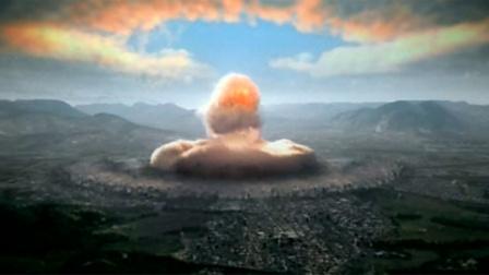 真实记录广岛原子弹爆炸镜头,一操场学生瞬间消失,惨烈!