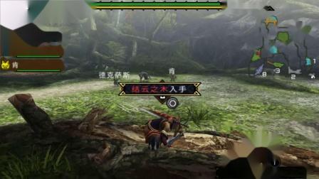 木子小驴解说《PSP怪物猎人3》交纳3个翔鹿的角实况攻略第二期