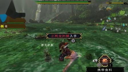木子小驴解说《PSP怪物猎人3》狩猎大野猪实况攻略第四期