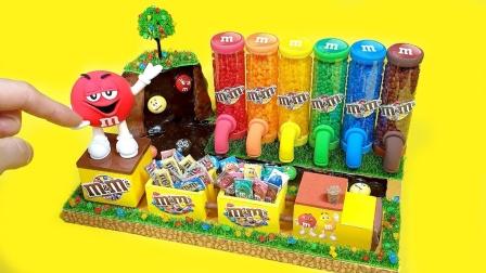 DIY微型巧克力糖果贩卖机