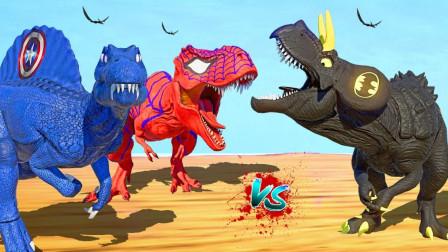 侏罗纪世界424恐龙大PK