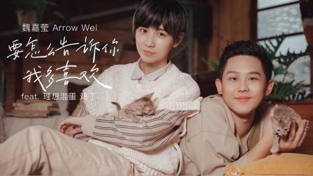 魏嘉莹 Arrow Wei【要怎么告诉你我多喜欢】feat. 理想混蛋鸡丁 Official Music Video