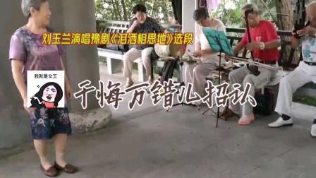 蚌埠刘玉兰演唱唱《泪洒相思地》选段
