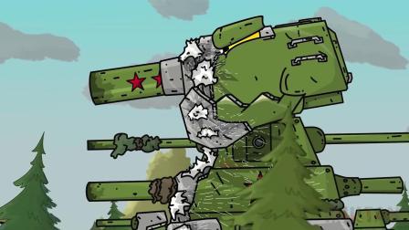 坦克世界国庆特别篇:并未实现的kv44,复原后