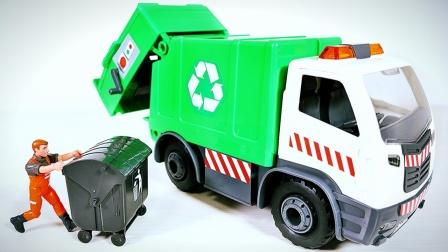 绿色环保车模型拆箱组件