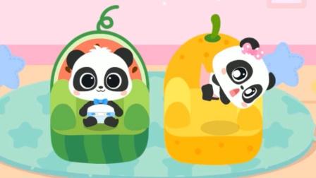 照顾小宝宝:小宝宝妙妙吃紫薯泥 宝宝巴士游戏