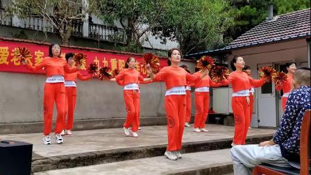 广场舞《没有共产党就没有新中国》团队表演