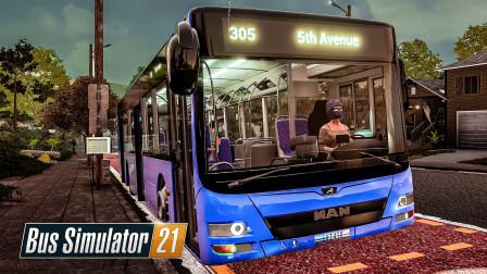 巴士模拟21 天使海岸 #20:我本来只是想买一台A37开个微循环... | Bus Simulator 21
