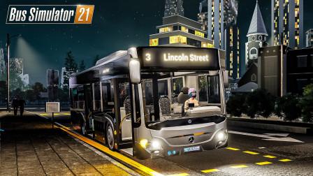 巴士模拟21 天使海岸 #21:3路终于有外环线了 | Bus Simulator 21