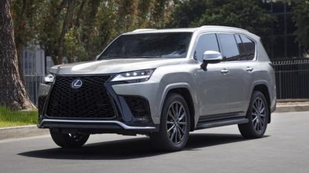 2023 雷克萨斯 Lexus LX 展示 - 竞争 英菲尼迪 Infiniti QX80?