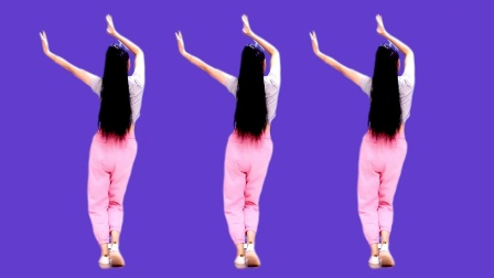 广场舞《心上人》背面演示 小摆胯多练几遍
