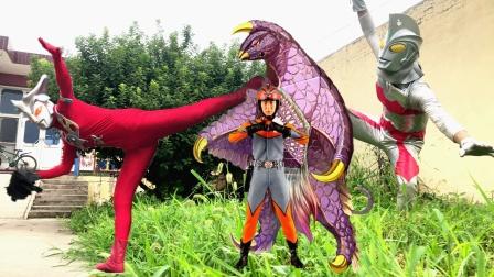 闯关族M78:为了从怪兽口中救出艾斯!雷欧奥特曼用出了独门绝技!