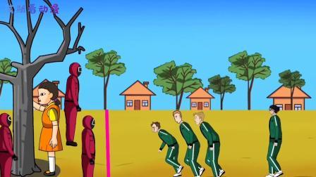 艾伦被抓去玩鱿鱼游戏,下一秒直接变成超大型巨人,基地瞬间遭殃