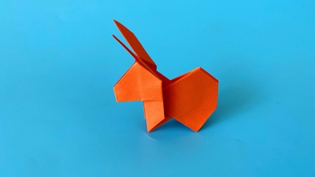 怎么折纸川田文昭的兔子,一遍学会了,折纸王子视频教程