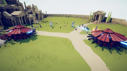 全面战争模拟器:对手有雷神宙斯,但也顶不住大炮