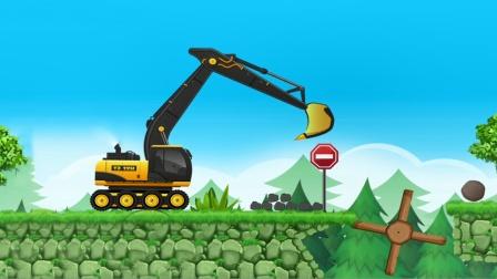 全能老司机之挖土机和压路机模拟施工