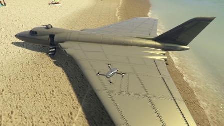 麟飞:用大疆无人机航拍发现了大飞机直接开走