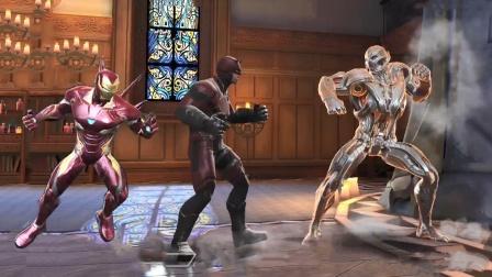 漫威超级争霸战,夜魔侠和钢铁侠联手才把奥创打败