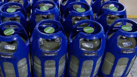 煤气罐还有透明的?用玻璃制造,重量减少30%,女孩都能拎起
