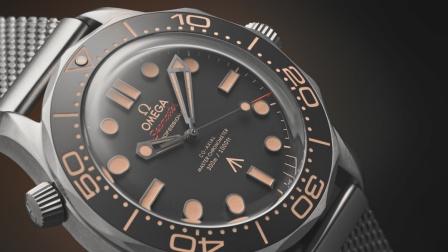 欧米茄海马300米潜水表007版