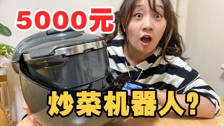 """5000元买个""""炒菜机器人"""",有钱人都用它炒菜?"""