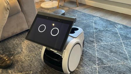 亚马逊造了个大眼萌机器人,能聊天会看家,陪伴老人太合适