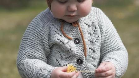 【下集】兔兔编织坊莉莲毛线开衫毛衣棒针毛线衣编织教程