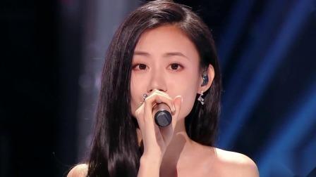 纯享:伍珂玥《飘雪》,仙美白裙再唱粤语经典 中国好声音 2021 20211015