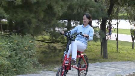 """自行车还能""""躺着骑""""?2兄弟改造传统单车结构,骑行安全又省力"""