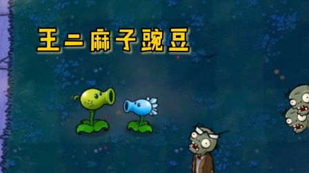 植物大战僵尸:王二麻子豌豆