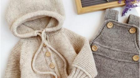 【上集】兔兔编织坊飞行员毛线开衫毛衣棒针毛线衣编织教程