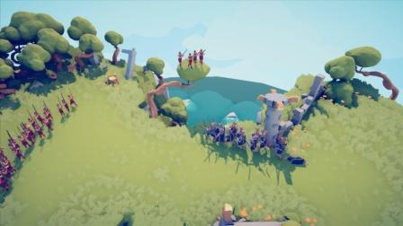 全面战争模拟器:国王不会游泳,骗到水里淹死