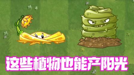 植物大战僵尸:大部分玩家都不知道的能产生阳光的植物!