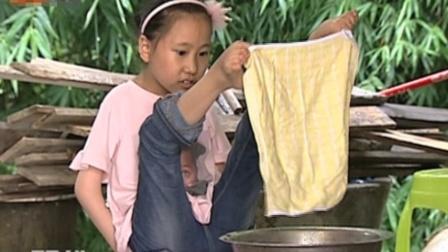 9岁小女孩双手残疾,刷牙洗脸吃饭全靠双脚,梦想就是能够上学