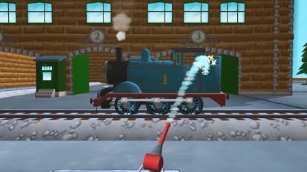 托马斯儿童游戏,托马斯前往蒸汽机厂进行清洗