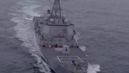 首次!美加军舰联合穿越台海,一天后解放军军机现身台空域#军事 #台海形势 #中美博弈