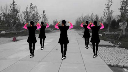 《三天三夜的雨》背面演示,歌好听,舞简单,健身效果好