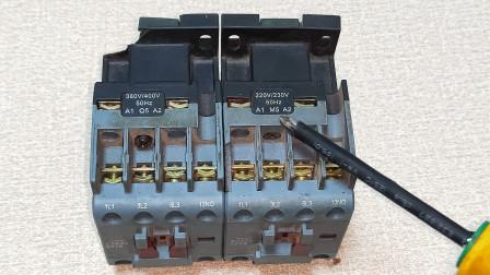 电工知识:接触器不吸合,是不是线圈坏了?教你个好方法,是否损坏一测便知