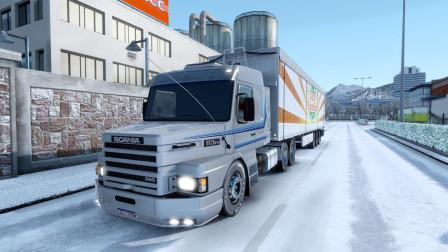 【欧洲卡车模拟2】在欧卡里面玩美卡