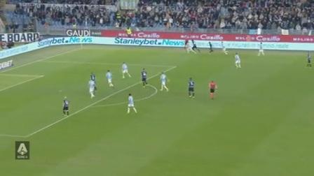 意甲-安德森争议球因莫比莱破门 拉齐奥3-1送国米联赛首败
