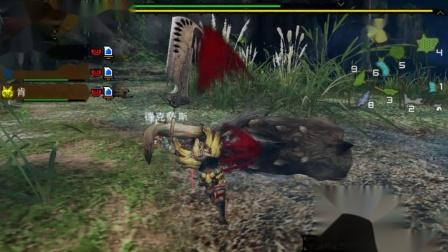 木子小驴解说《PSP怪物猎人3》狩猎一头大野猪王实况攻略第七期