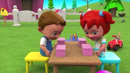 有趣的数字游戏 宝宝识数字 超级孩子