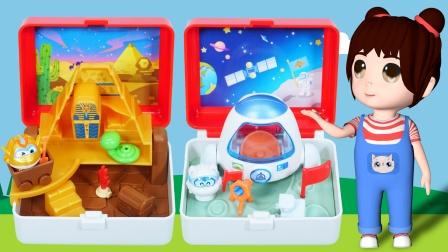 乐乐拆箱:超级飞侠的盲盒玩具
