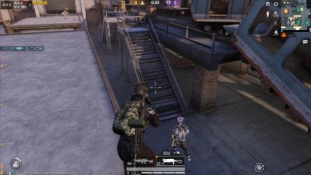 和平精英:突变团竞 最后几秒钟,却被僵尸抓了