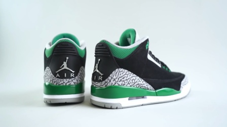 "【Mr.Foamer Simpson】- Air Jordan 3 ""Pine Green"""