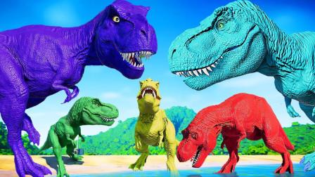 侏罗纪世界428恐龙大PK