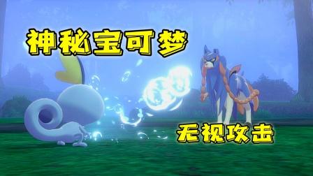 宝可梦剑盾:迷雾深林隐藏着神兽,我的宠物攻击竟然无效!